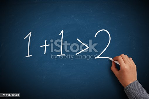 istock One Plus 1 is More Than Tow 522021849