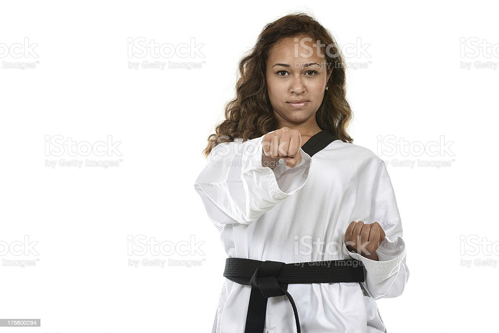 One punch stock photo