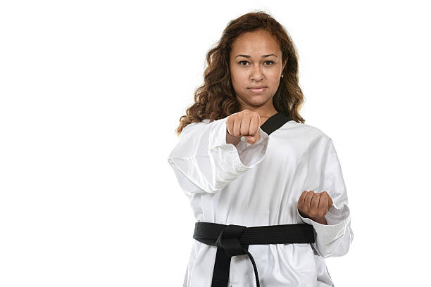 one punch - martial arts gerville stock photos and pictures