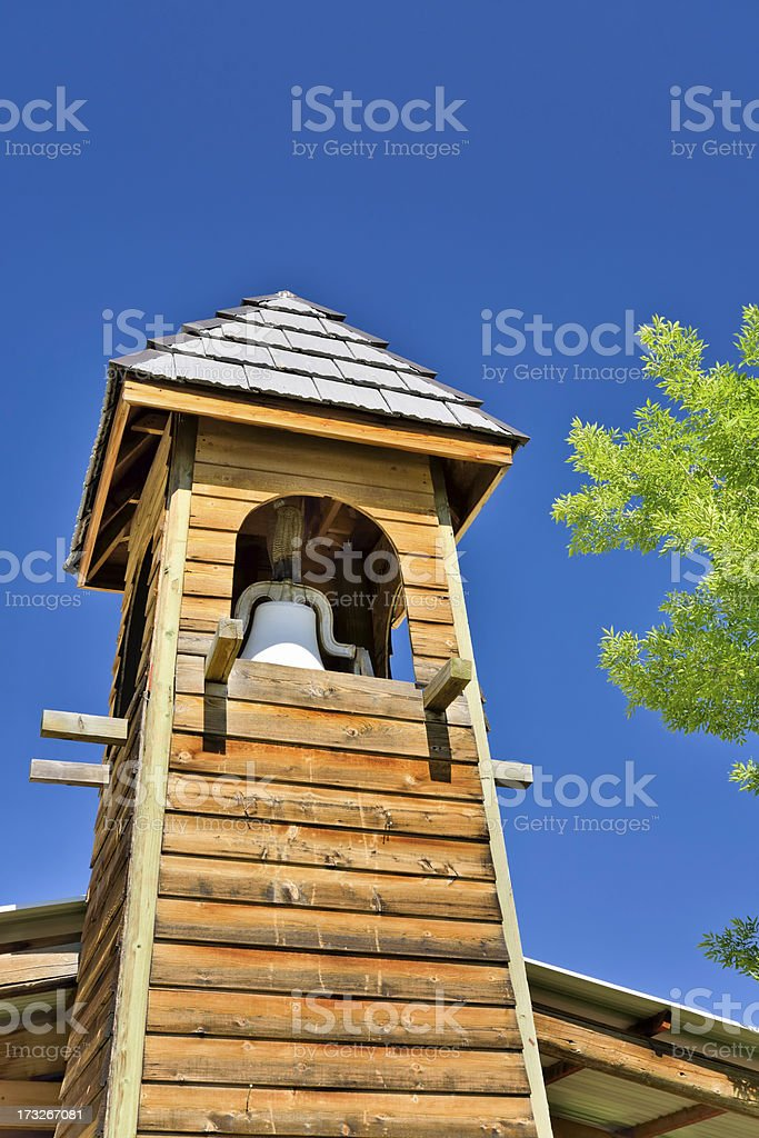 One Room Schoolhouse royalty-free stock photo