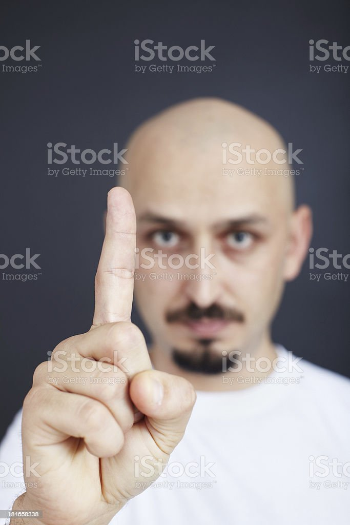 One rule royalty-free stock photo