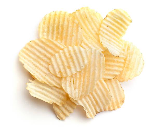 Eine Portion wellenförmigen Chips 1 g – Foto