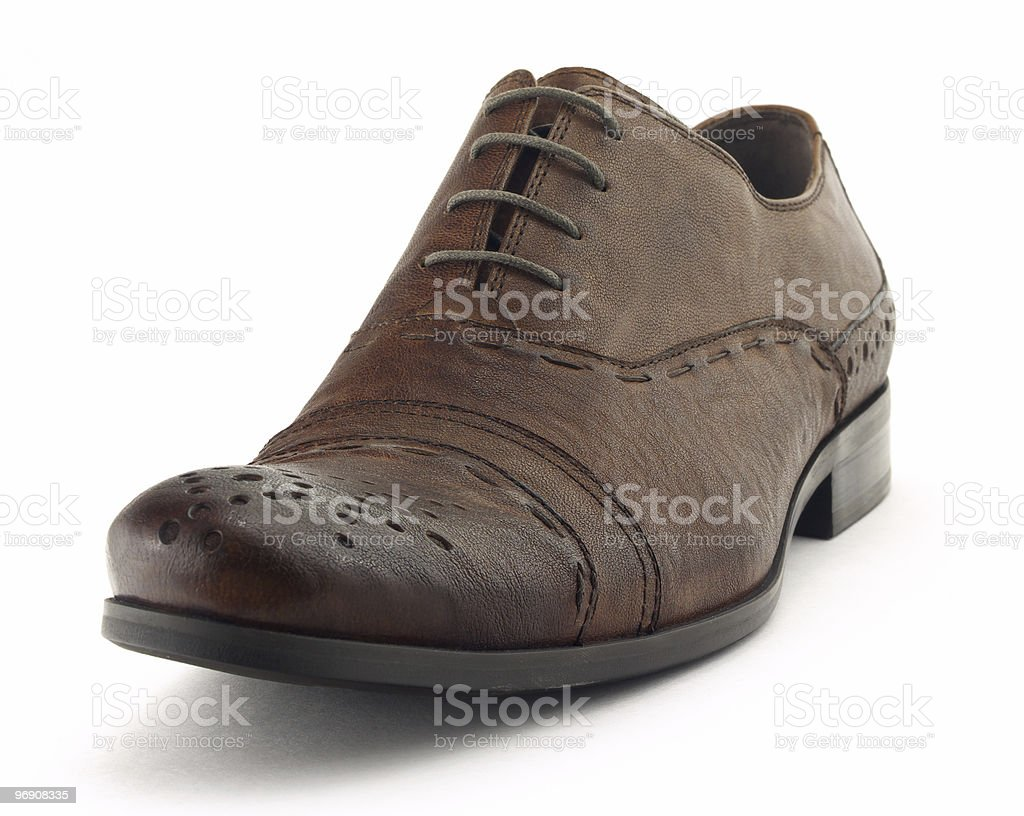 One shoe royalty-free stock photo