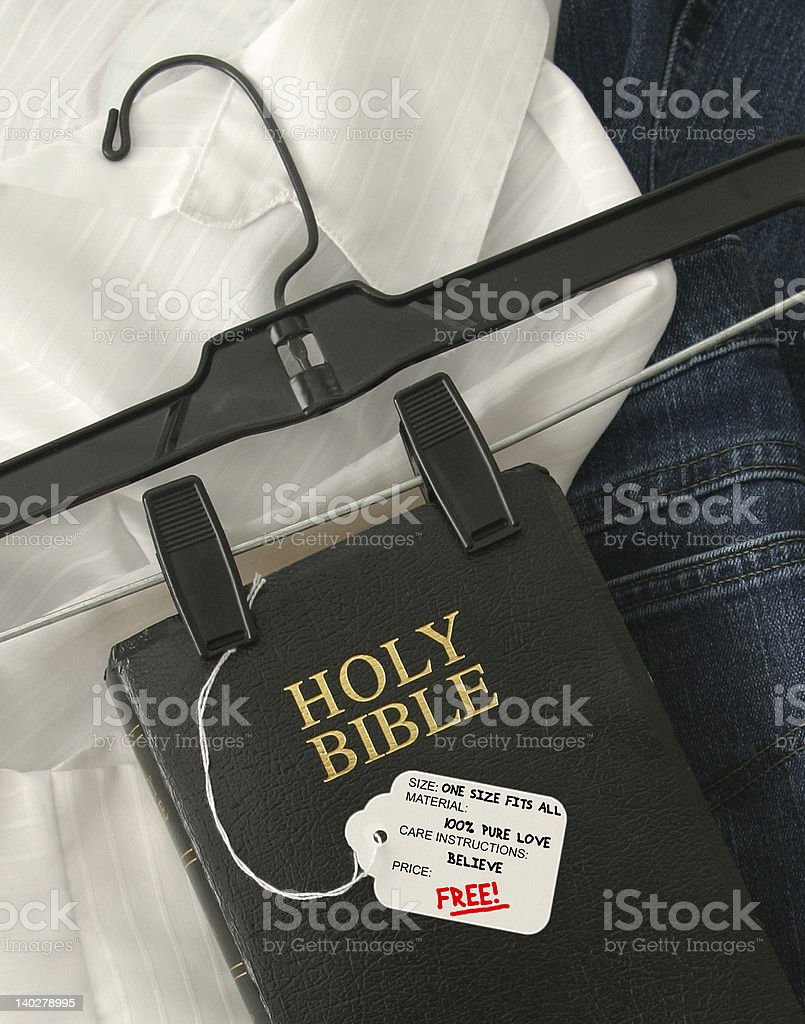 One Size Fits All! royalty-free stock photo