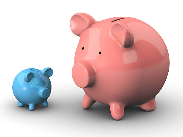 Ersparnisse – Groß und Klein – Foto