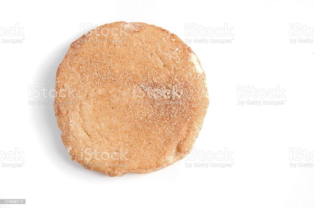 One Snickerdoodle Cookie stock photo