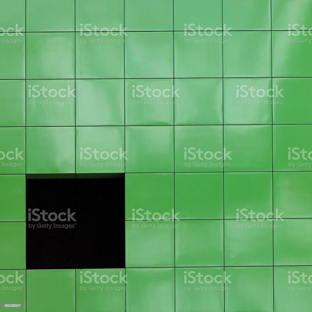One Square royalty-free stock photo