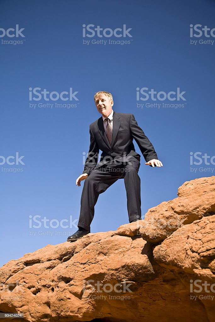 one step beyond royalty-free stock photo