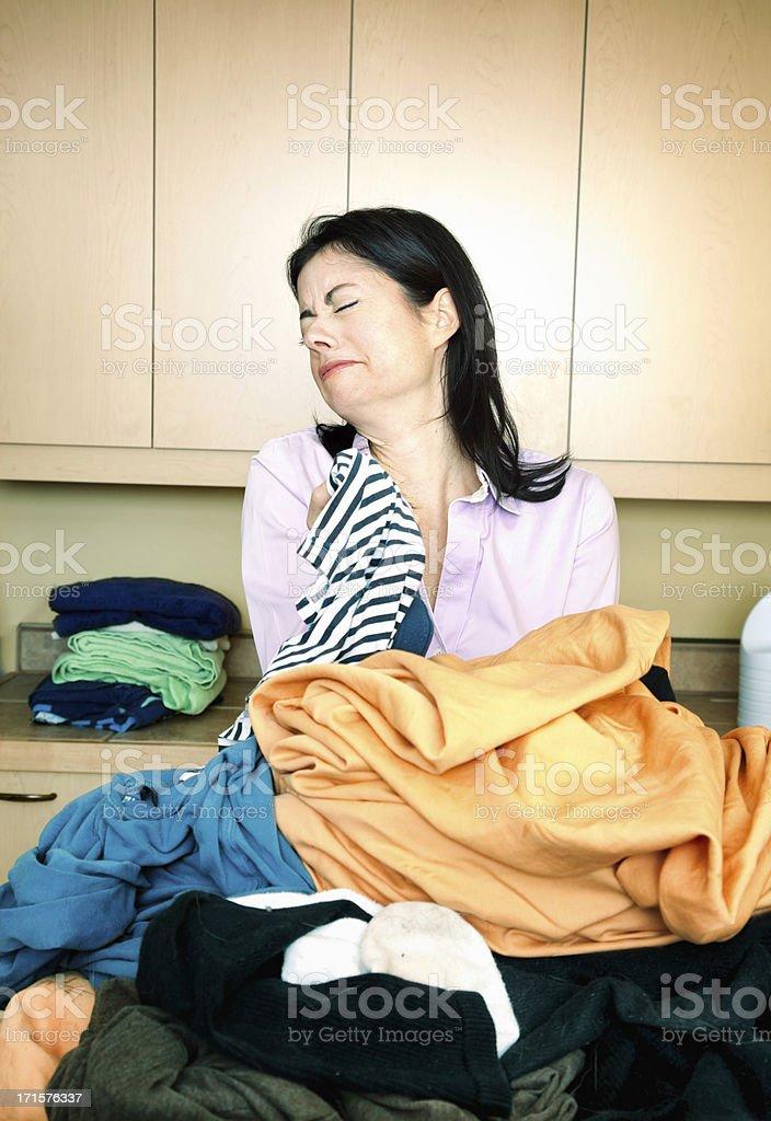 One stinky pair of underwear stock photo