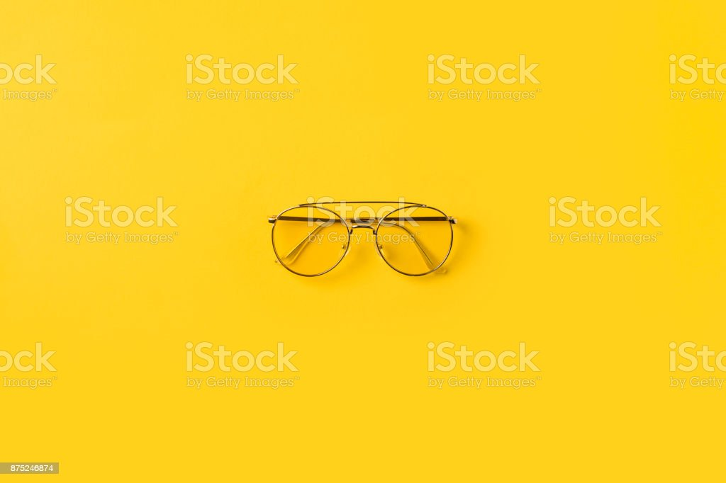 one stylish Glasses stock photo
