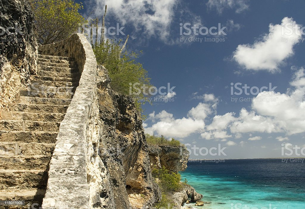 One Thousand Steps stock photo