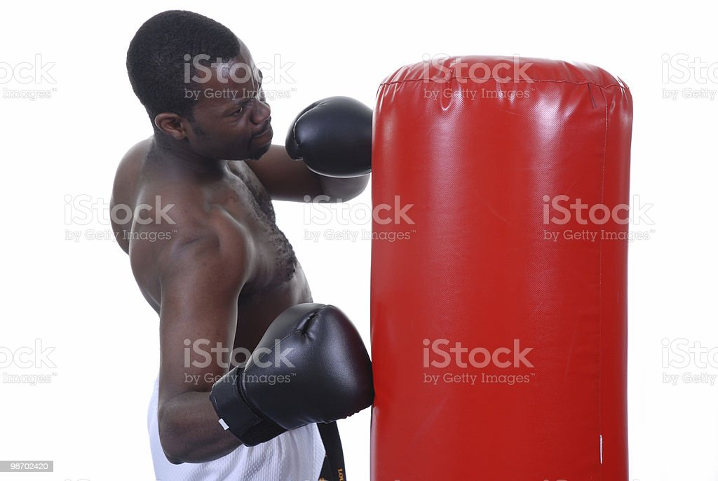 One to the ribs royalty-free stock photo