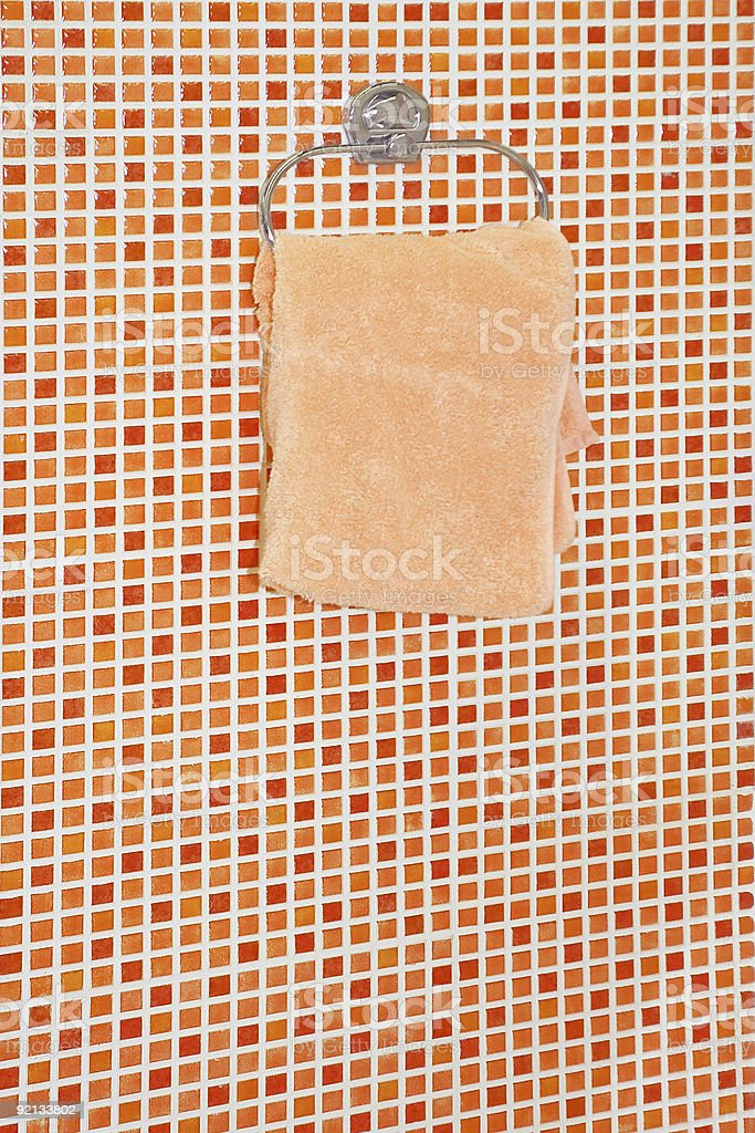 One towel royalty-free stock photo