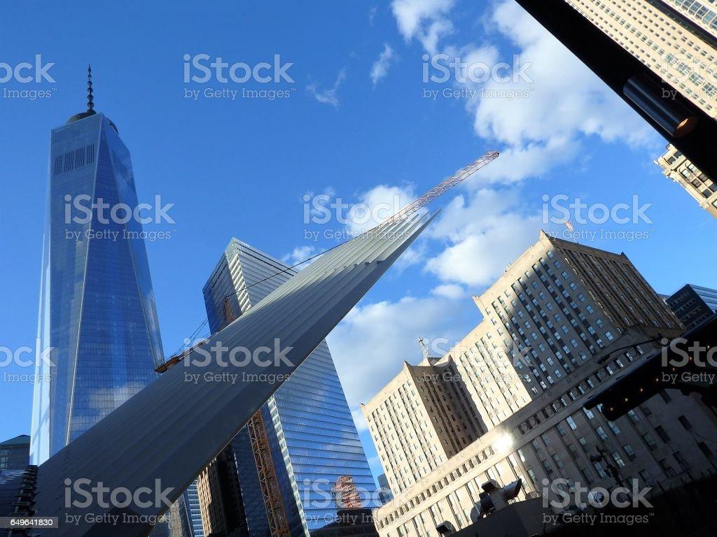 One Trade Center in Manhattan New York stock photo