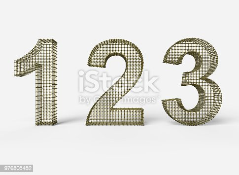 istock One two three - 3d progress steps 976805452