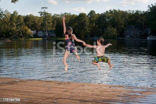 istock One, two, three, jump! 175194759