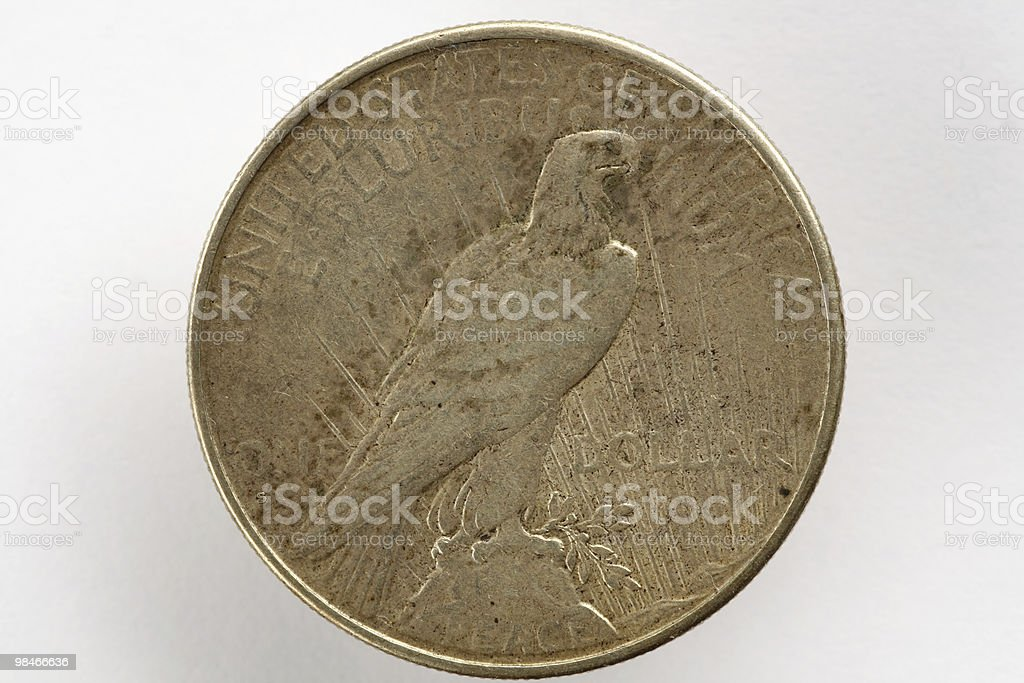 One US Dollar 1926 royalty-free stock photo