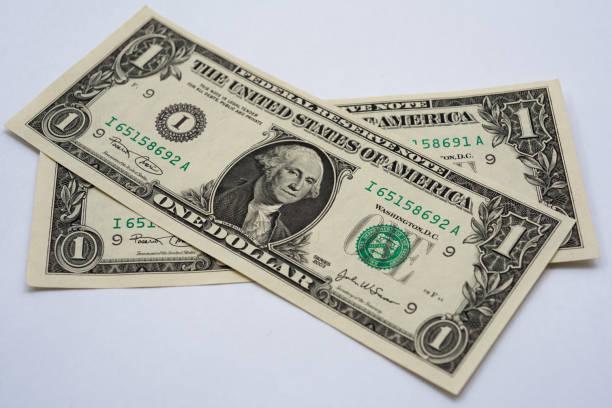 ein US Dollar-Note – Foto