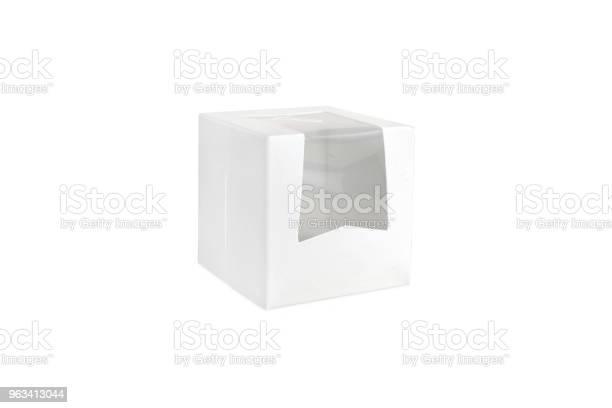 Jedno Białe Puste Pudełka Do Pakowania - zdjęcia stockowe i więcej obrazów Bez ludzi