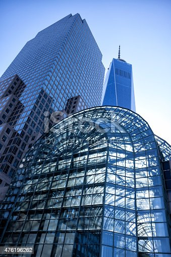 istock One World Trade Center and Wintergarden, New York 476196262