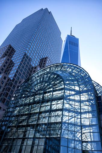 istock One World Trade Center and Wintergarden, New York 476196262