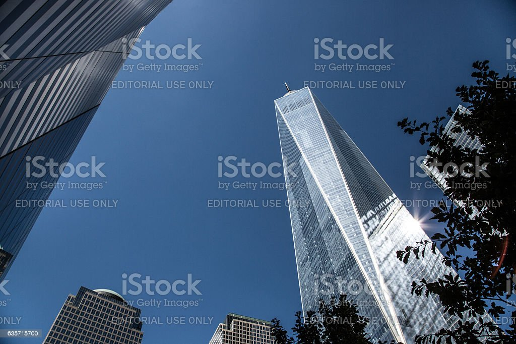 One World Trade Center - Freedom Tower royalty-free stock photo