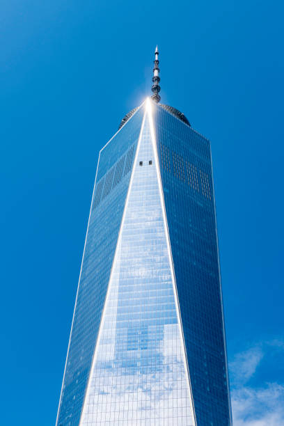 One World Trade Center in Manhattan, New York City, Verenigde Staten​​​ foto