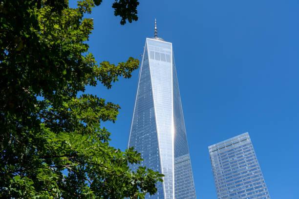 One World Trade Center in New York City stock photo