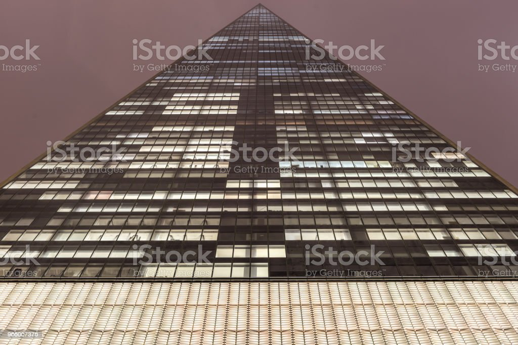 One World Trade Center, New York at night - Royalty-free Architecture Stock Photo