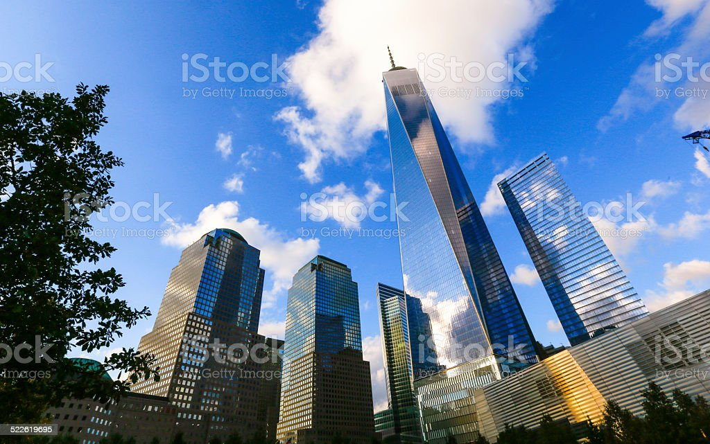 One World Trade Center, New York City stock photo