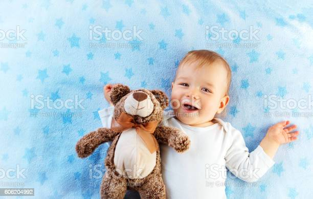 One year old baby with a teddy bear picture id606204992?b=1&k=6&m=606204992&s=612x612&h=557fzhfp7a6uilrwgl2j8lkzk9cebqkx8xlz7wps0mg=