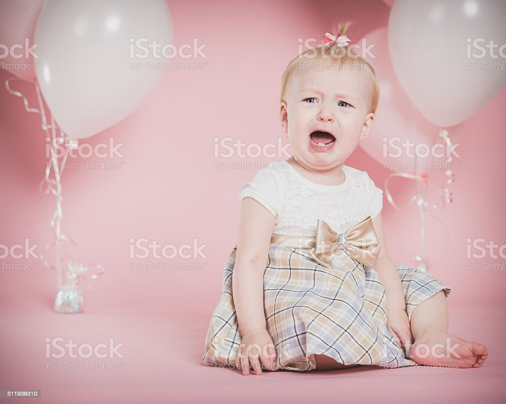 One Year Old Birthday Portraits Stock Photo More Pictures Of 12 17