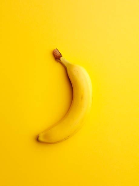 One Yellow Banana stock photo