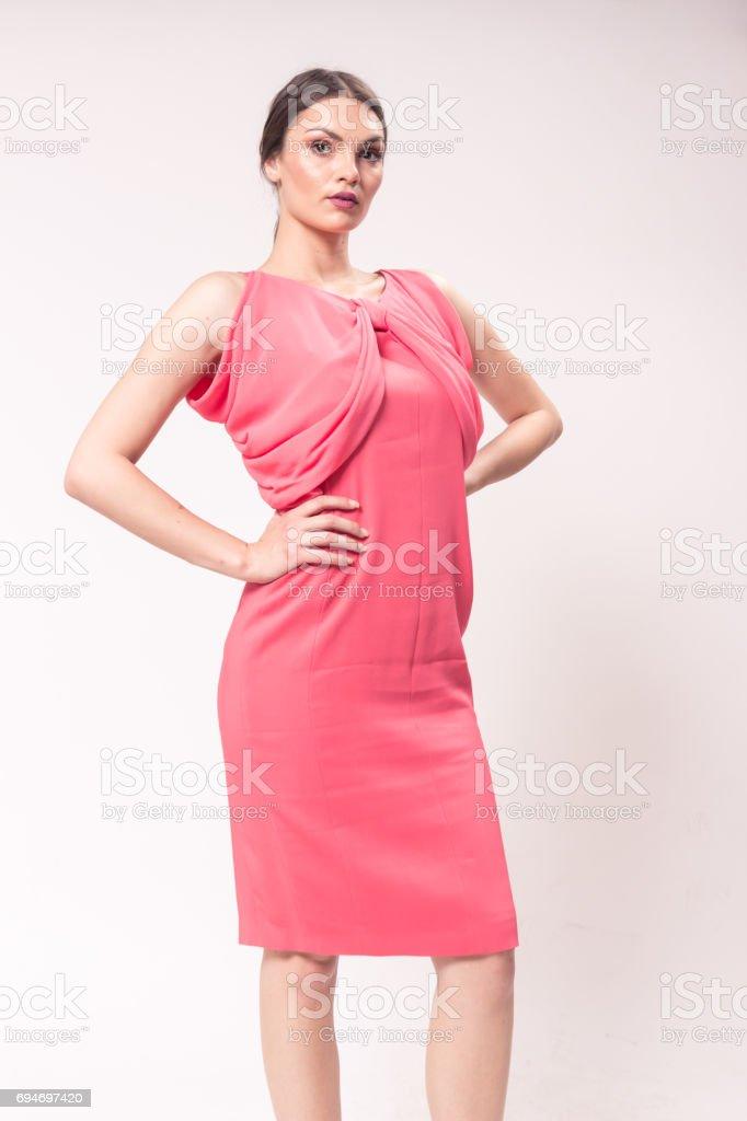 Una Mujer Caucásica Joven 20 Años 2029 Años Moda Modelo
