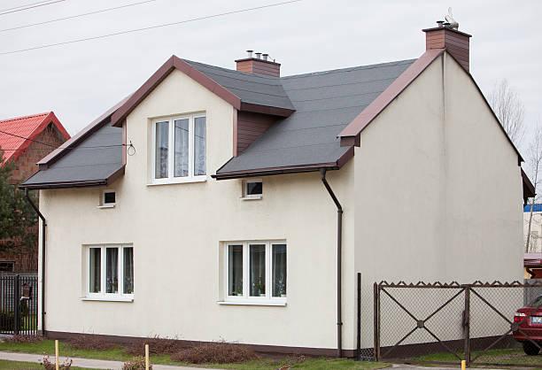 Einfache Familien-Haus in Polen – Foto
