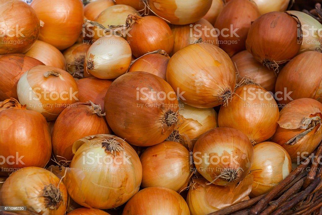 Onion Background stock photo