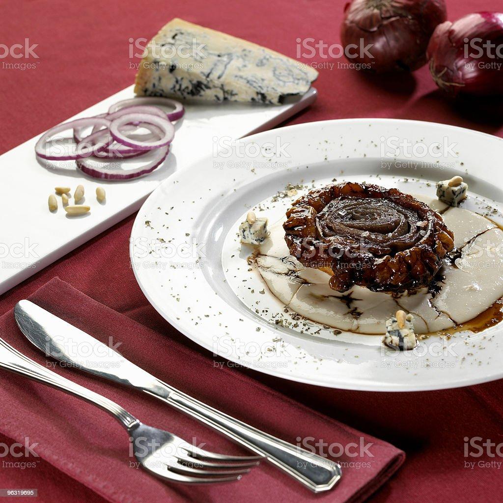 onion cake royalty-free stock photo