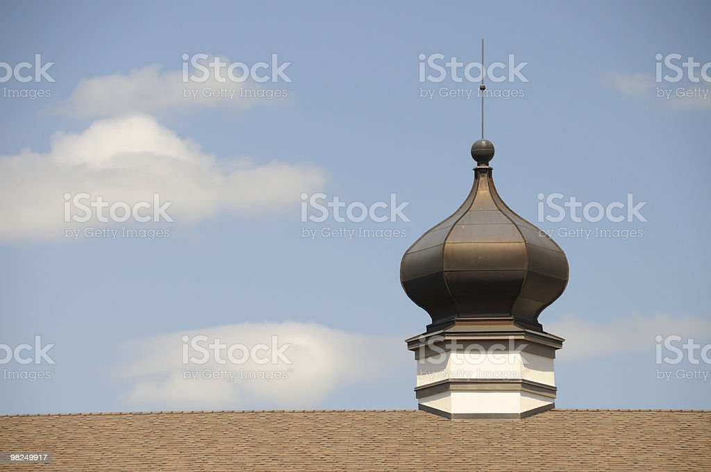 Onion Dome, Frankenmuth Michigan royalty-free stock photo