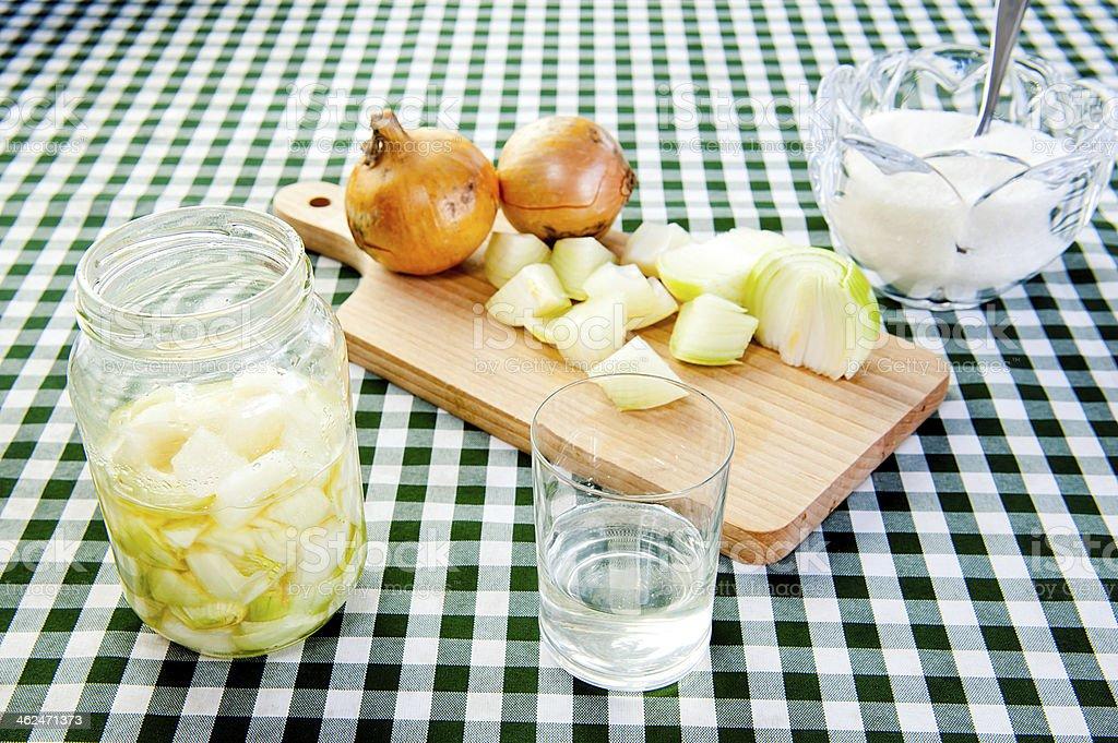onion juice stock photo