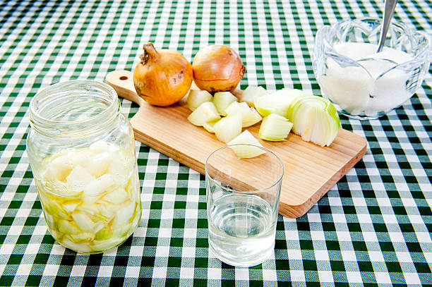 onion juice - onion juice stock photos and pictures