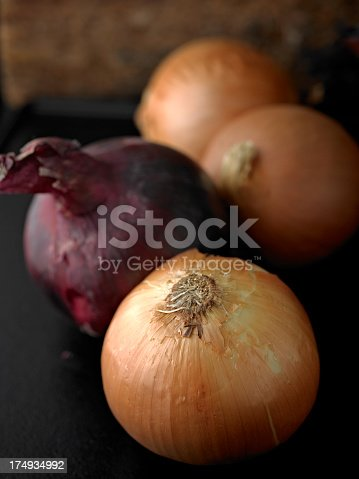 Close up of Onions