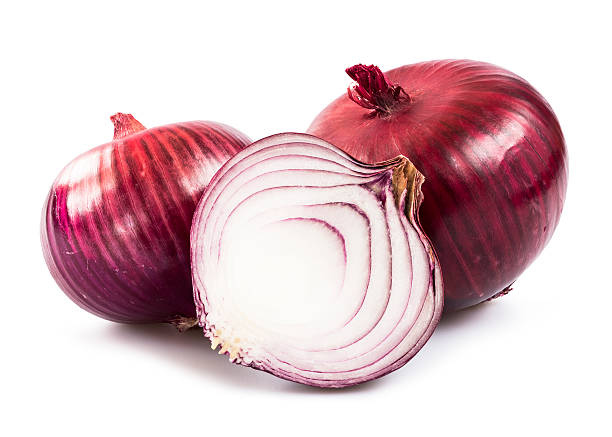 Onion Red onion over white background red onions stock pictures, royalty-free photos & images