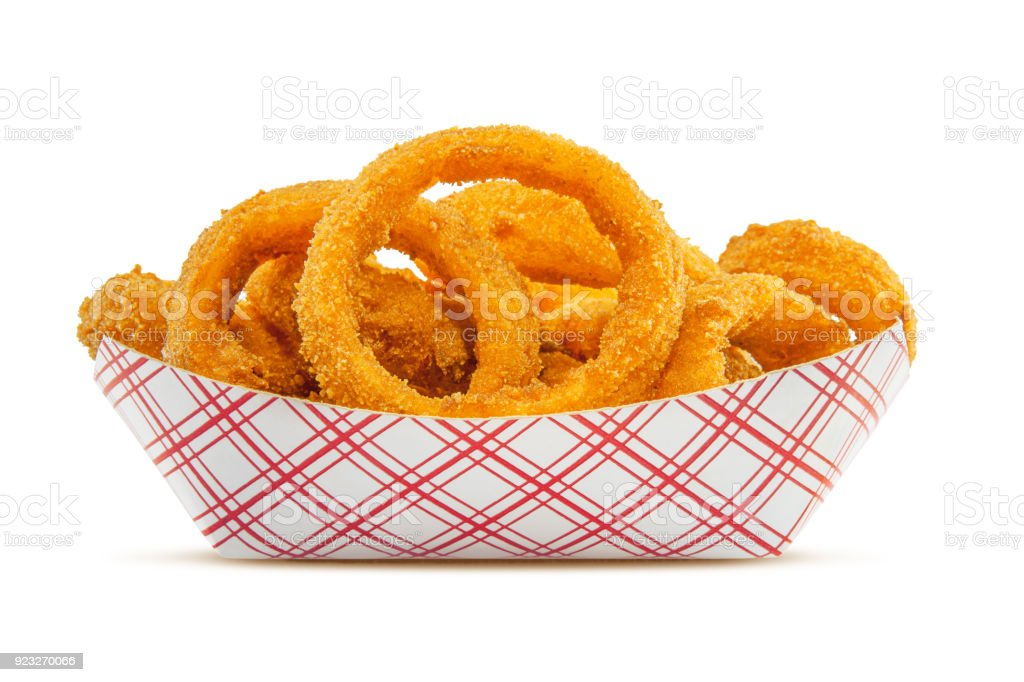 Onion Rings stock photo