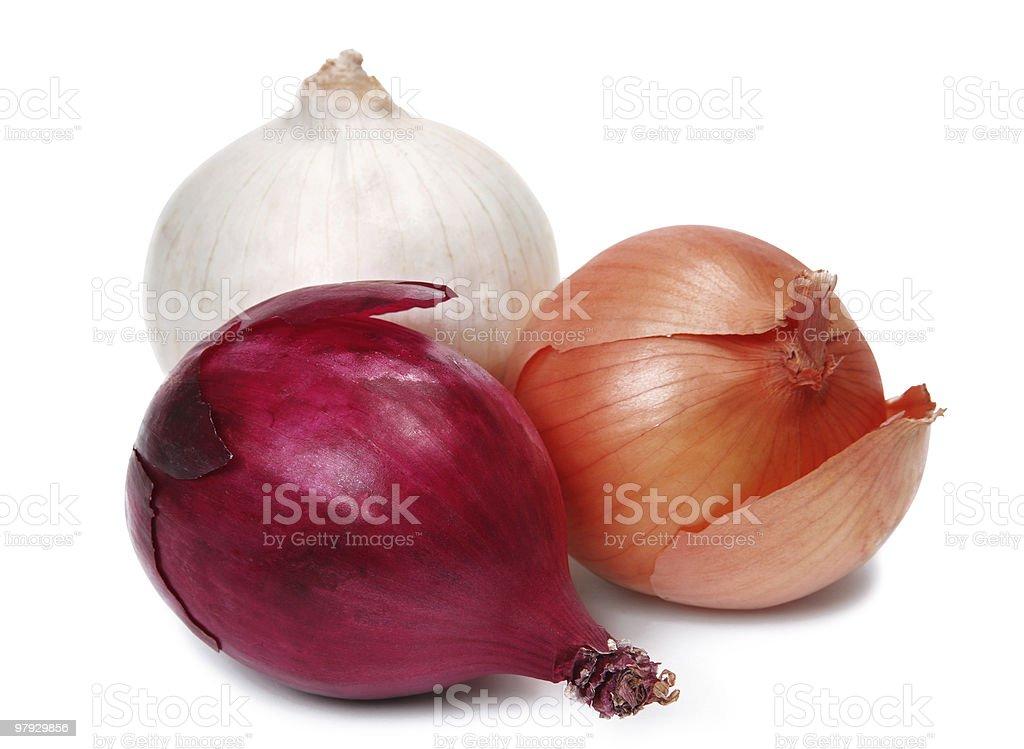 Onion set royalty-free stock photo
