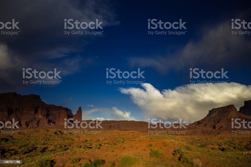 Onion Valley, Utah - Day stock photo