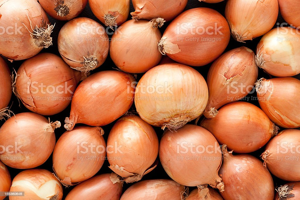 Onions background stock photo
