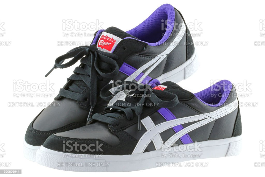 Onitsuka Tiger A-SIST vulcanised shoes for women stock photo