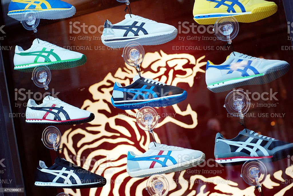 Onitsuka Tiger shop in Liverpool One mall stock photo