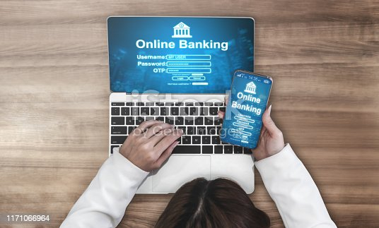 1016971522 istock photo Online Banking for Digital Money Technology 1171066964