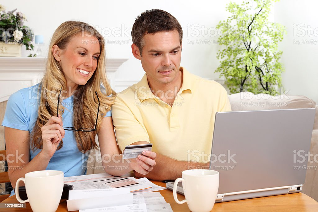 Online Bill Payment royalty-free stock photo
